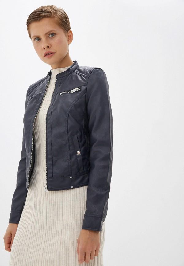 Куртка кожаная Vero Moda Vero Moda VE389EWFINP7 куртка женская vero moda цвет черный 10202806 black размер m 44