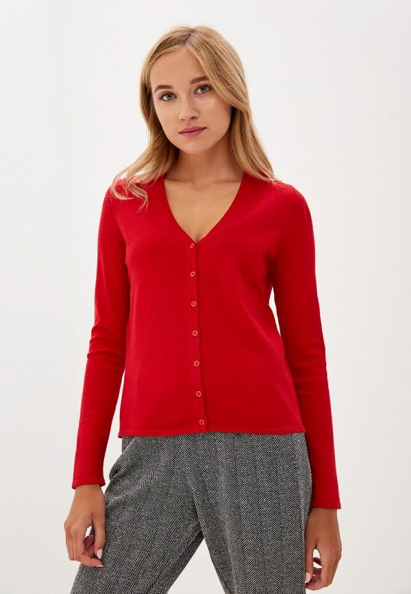 женский кардиган vero moda, красный