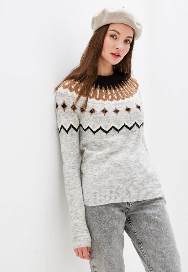 Джемпер Vero Moda Vero Moda VE389EWFION5 джемпер женский vero moda цвет серый 10185482 medium grey melange размер s 42 44