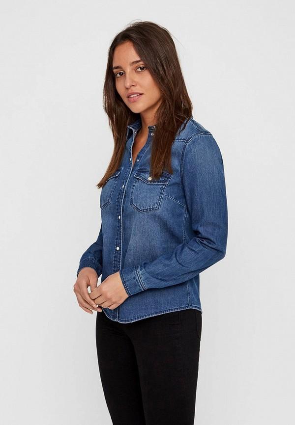 Фото - Рубашка джинсовая Vero Moda Vero Moda VE389EWFIOO8 vero moda джинсовая рубашка