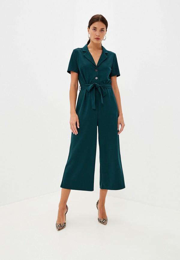 женский комбинезон vero moda, зеленый