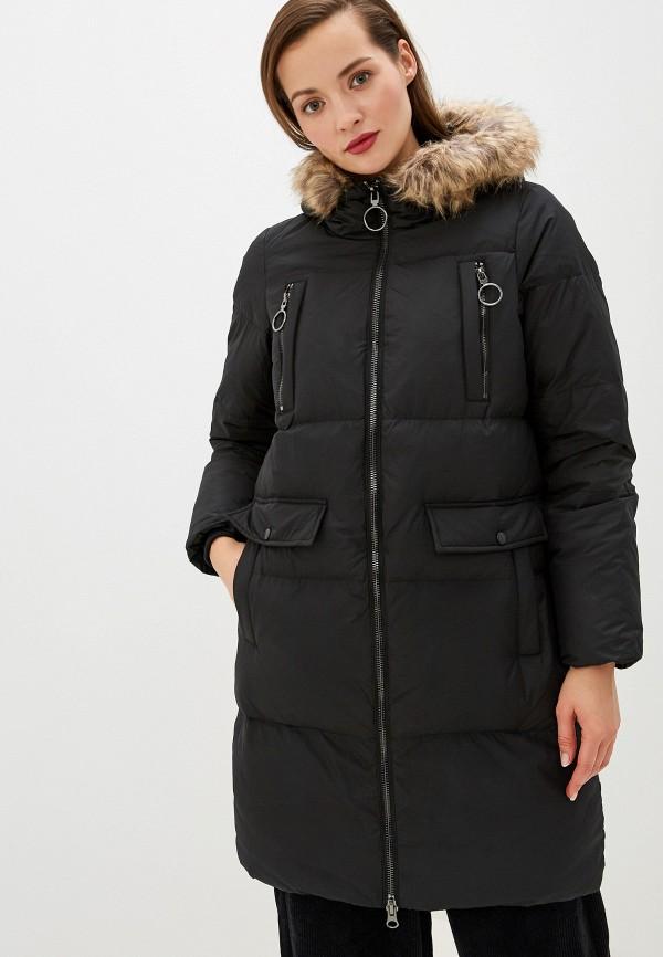 женское пальто vero moda, черное