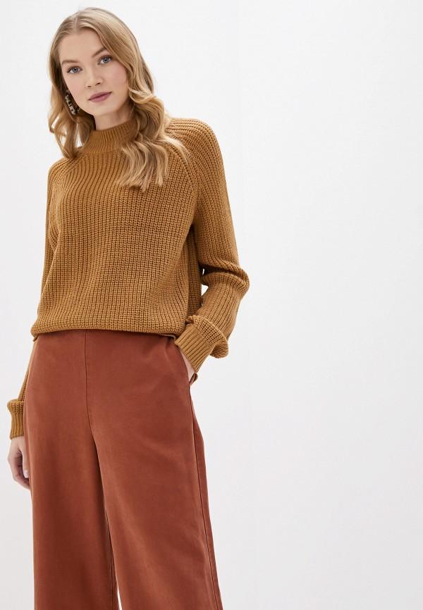 женский свитер vero moda, коричневый