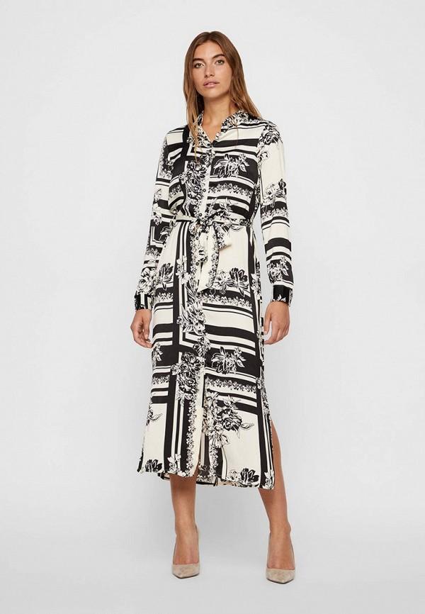 женское платье vero moda, белое