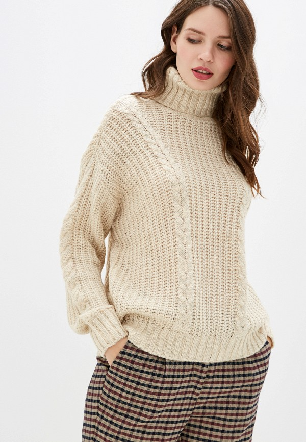 женский свитер vero moda, бежевый