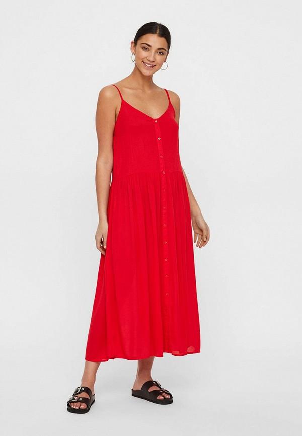 Платье Vero Moda Vero Moda VE389EWFJPR3 цены онлайн