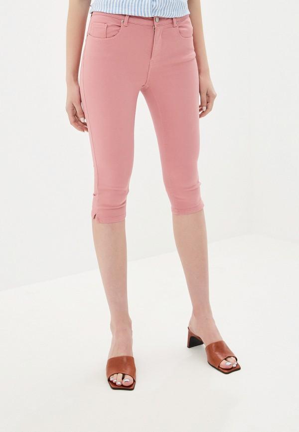 женские капри vero moda, розовые