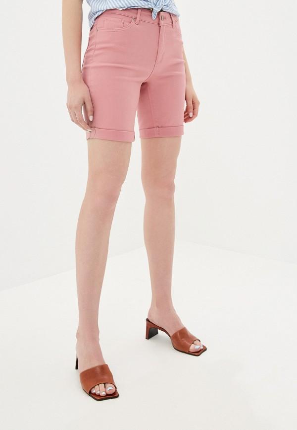 женские повседневные шорты vero moda, розовые