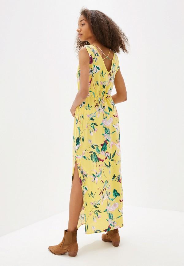 Фото 3 - женское платье Vero Moda желтого цвета