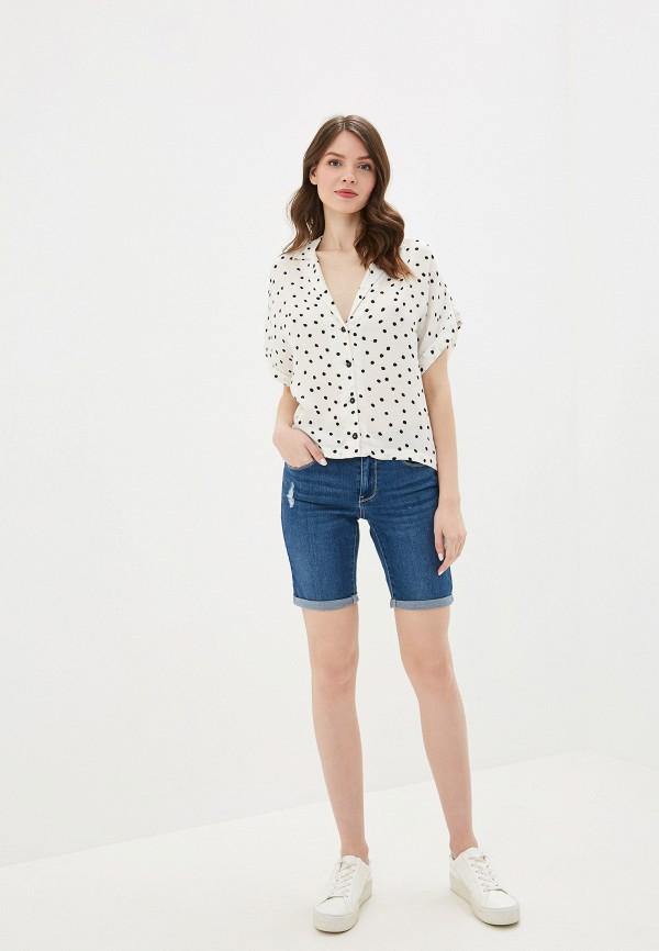 Фото 2 - Шорты джинсовые Vero Moda синего цвета