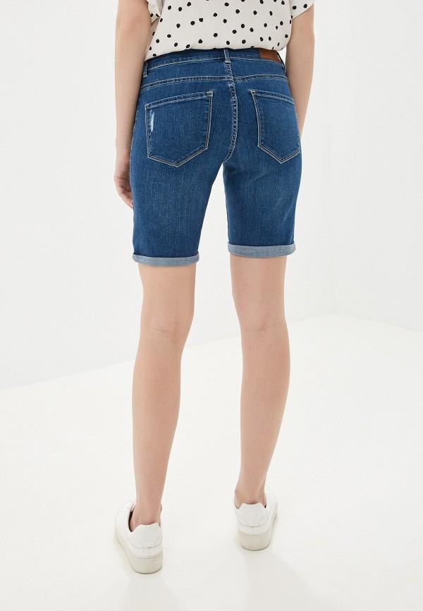 Фото 3 - Шорты джинсовые Vero Moda синего цвета