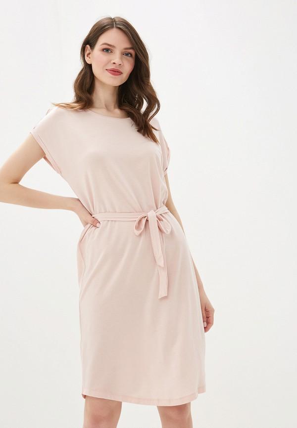 женское платье vero moda, розовое