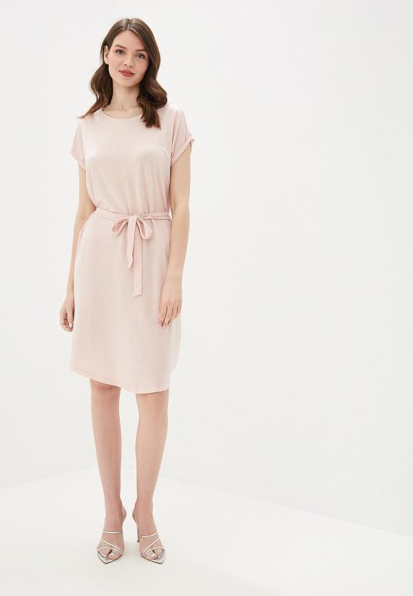 Фото 2 - женское платье Vero Moda розового цвета