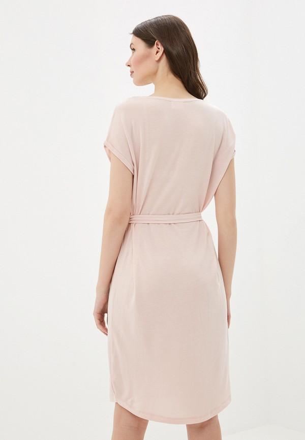 Фото 3 - женское платье Vero Moda розового цвета