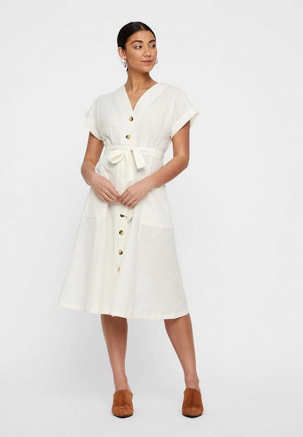 Платье Vero Moda Vero Moda VE389EWFJPX5 блузка женская vero moda цвет белый 10194917 snow white размер xl 48