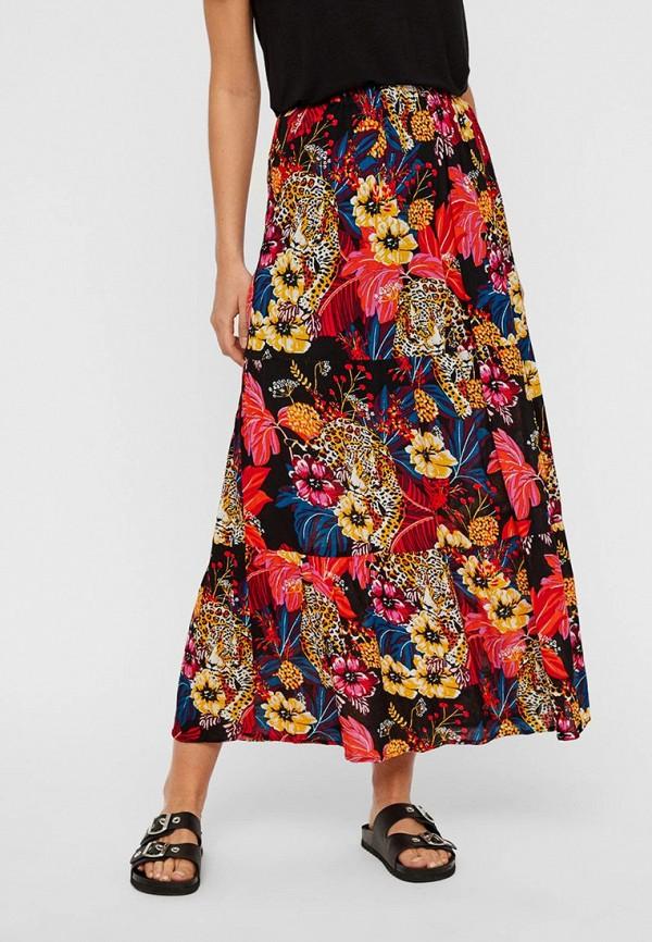 Фото - женскую юбку Vero Moda разноцветного цвета