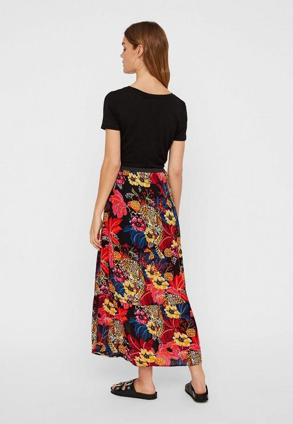 Фото 3 - женскую юбку Vero Moda разноцветного цвета