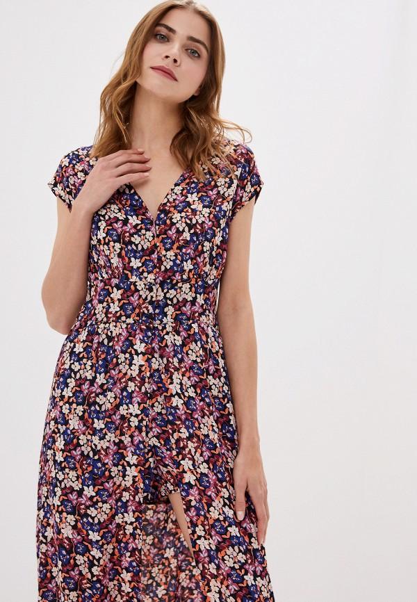 Фото 2 - женское платье Vero Moda разноцветного цвета