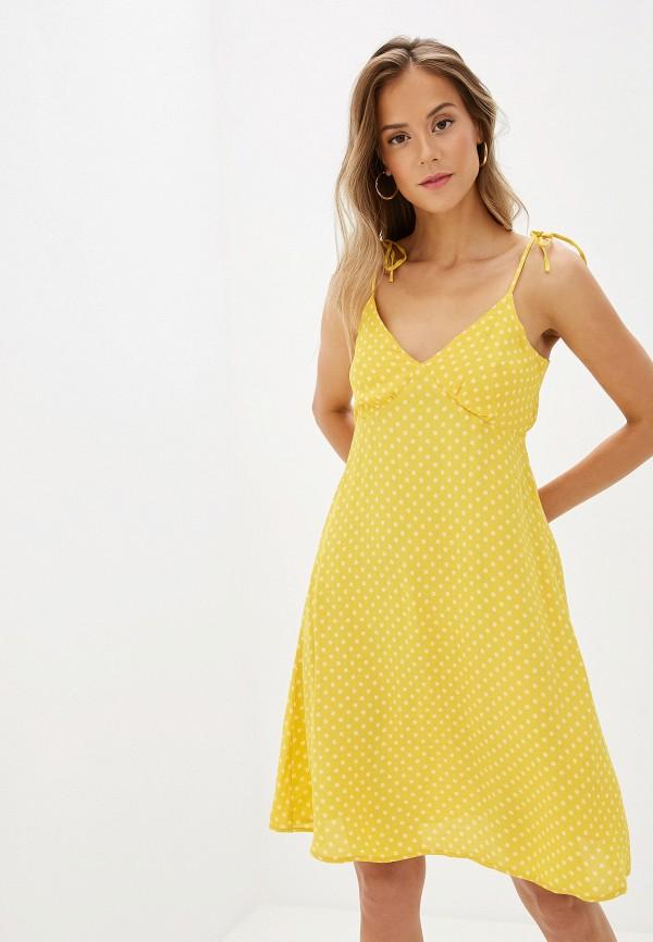 Фото - женский сарафан Vero Moda желтого цвета