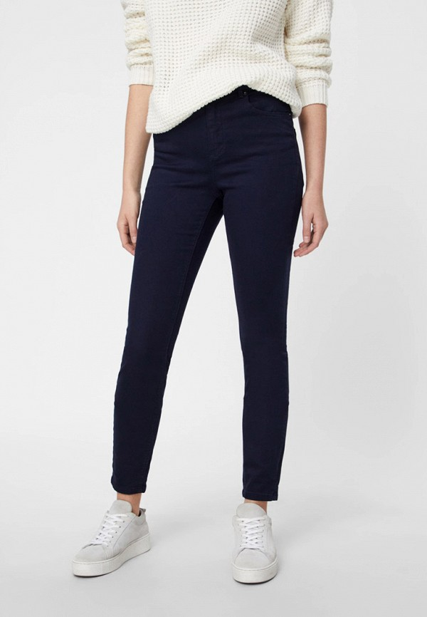 женские повседневные брюки vero moda, черные