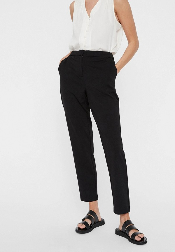 женские классические брюки vero moda, черные