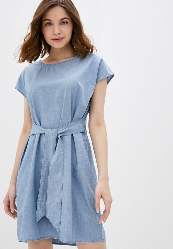 женское джинсовые платье vero moda, голубое