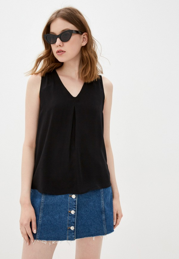 женский топ vero moda, черный