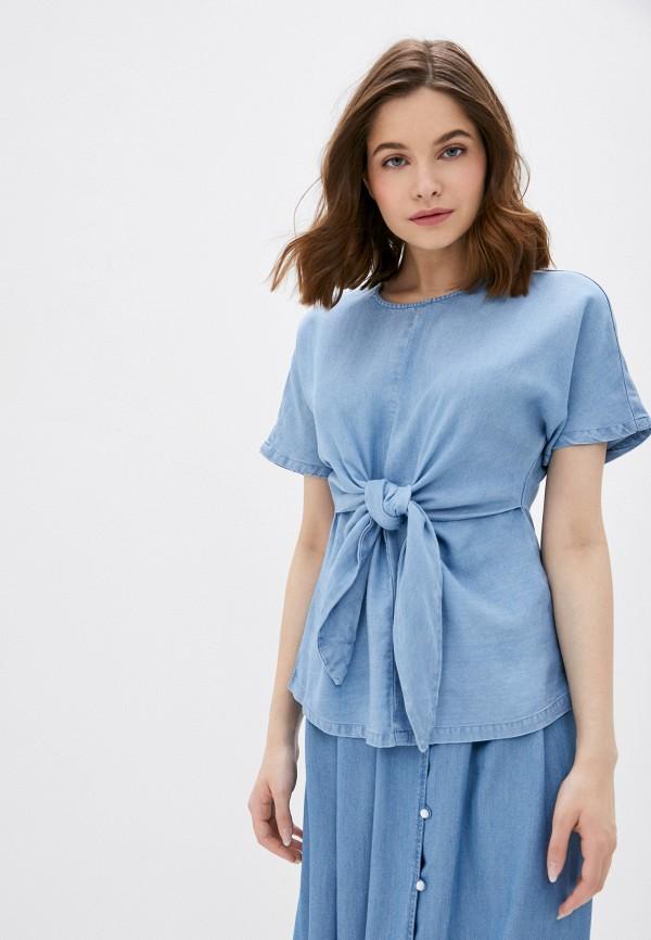 женская блузка vero moda, голубая