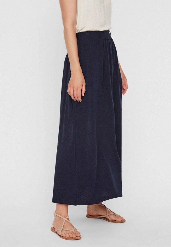 женская юбка vero moda, синяя