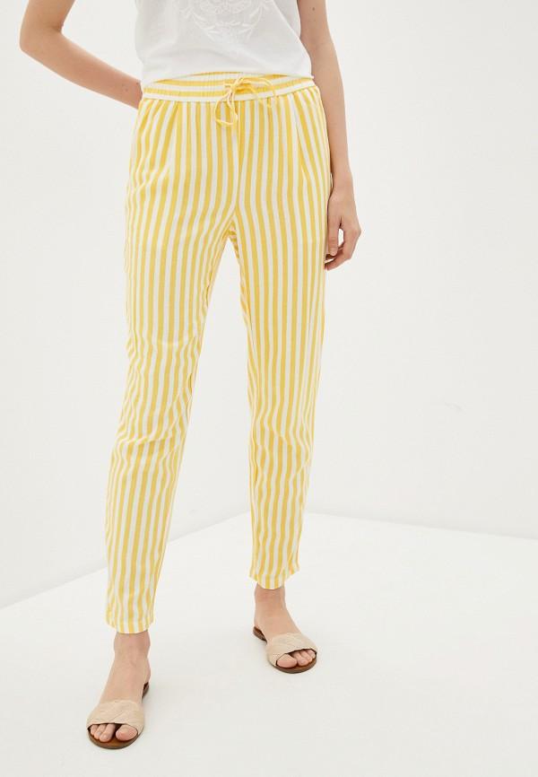 женские брюки vero moda, желтые