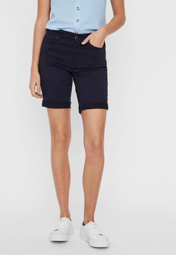 женские повседневные шорты vero moda, синие