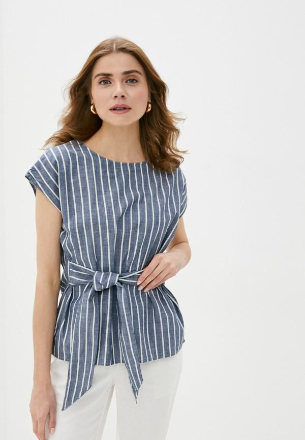 женская блузка vero moda, синяя
