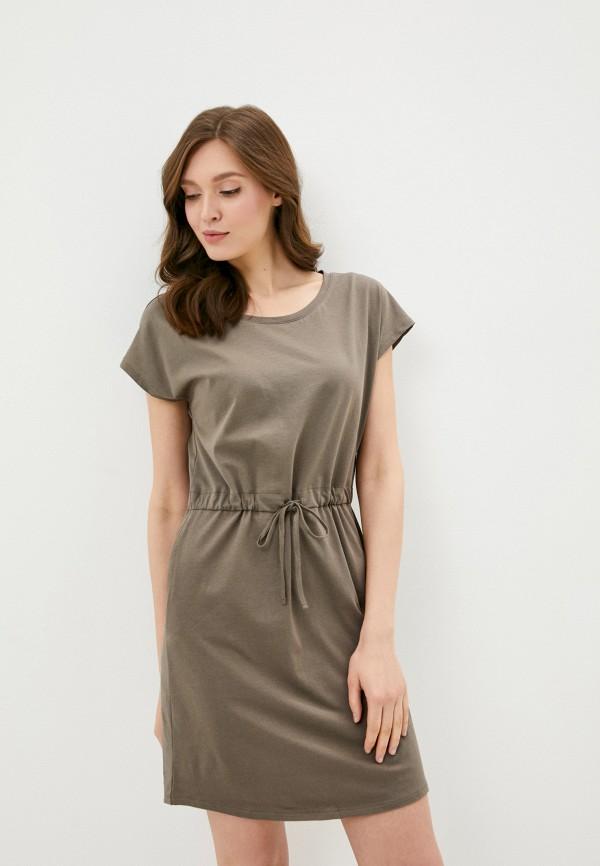 женское платье vero moda, серое
