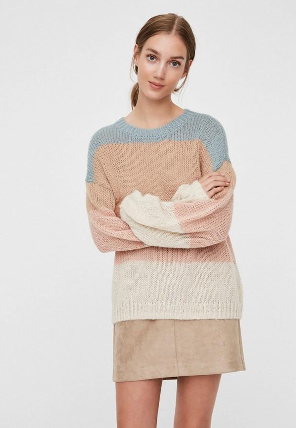 женский джемпер vero moda, разноцветный