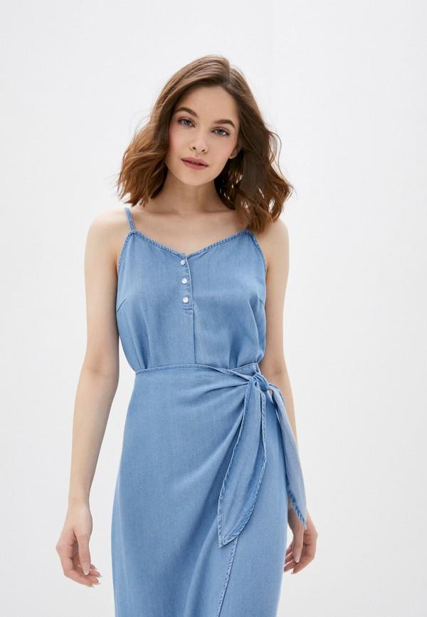 женский топ vero moda, голубой