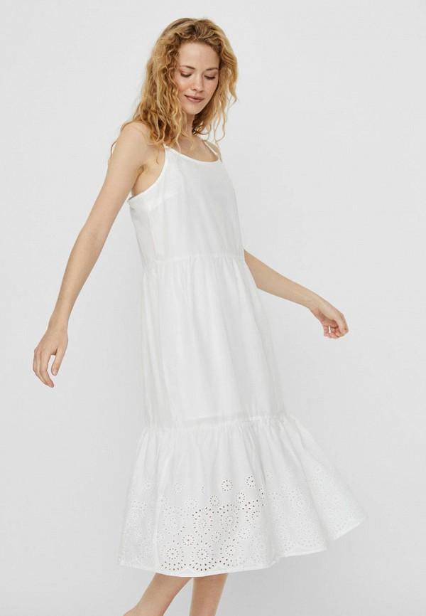 женский сарафан vero moda, белый