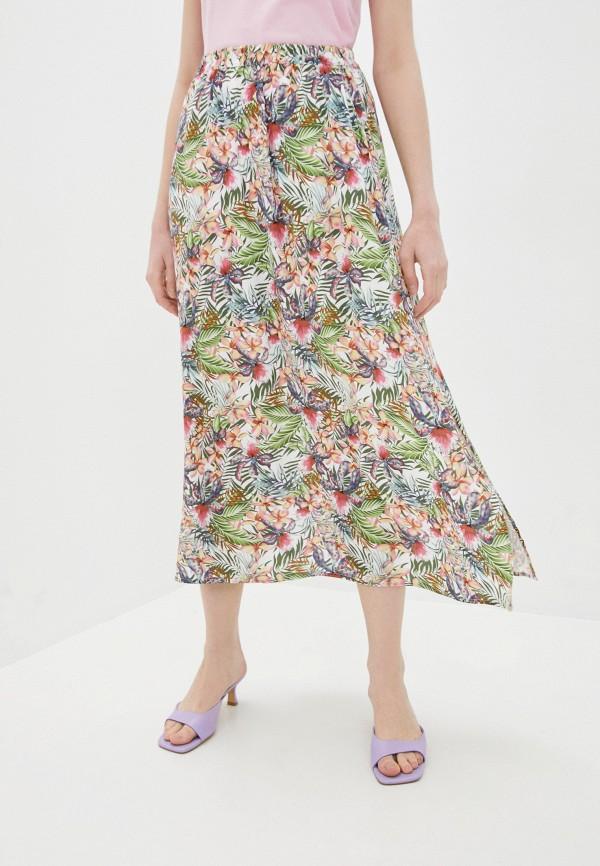 женская юбка vero moda, разноцветная