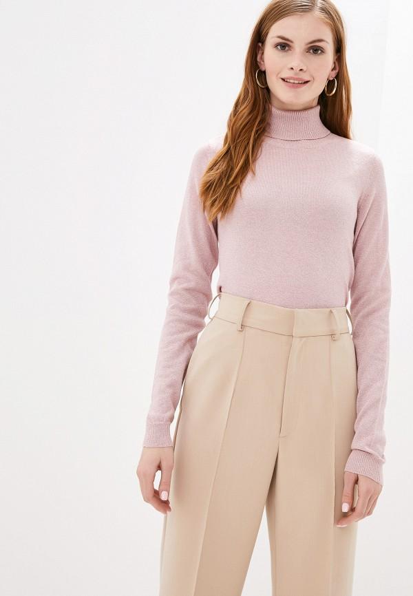 женская водолазка vero moda, розовая