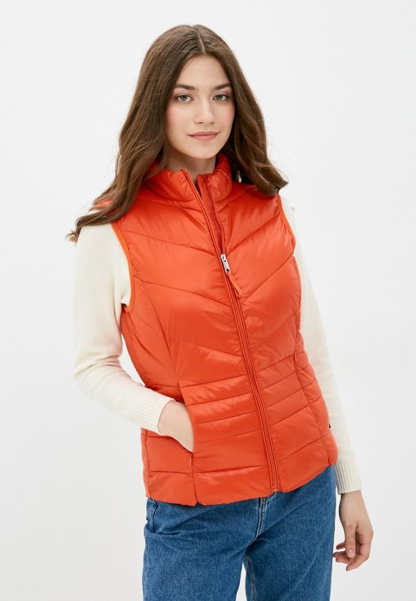 женский жилет vero moda, красный