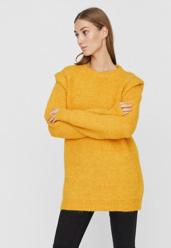 женская туника vero moda, желтая