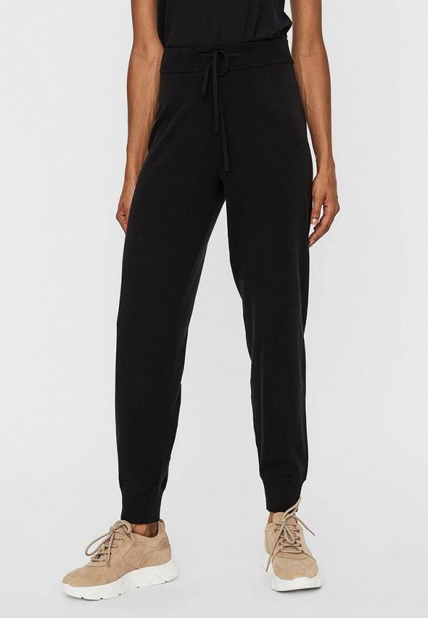 женские брюки джоггеры vero moda, черные