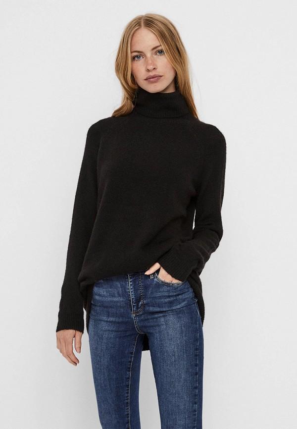 женский свитер vero moda, черный