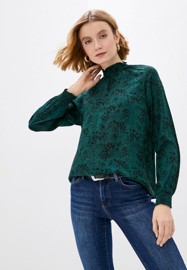 женская блузка vero moda, зеленая