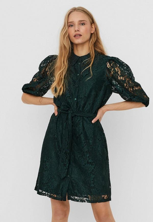женское платье vero moda, зеленое