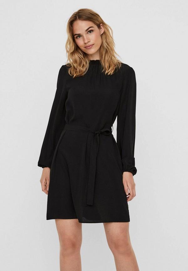 женское повседневные платье vero moda, черное