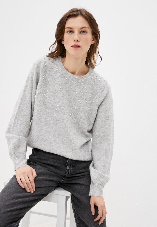 женский джемпер vero moda, серый