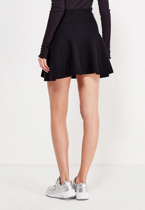 Фото 6 - женскую юбку Vero Moda черного цвета
