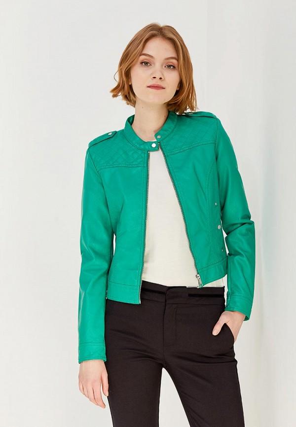 Купить Куртка кожаная Vero Moda, VE389EWZKS65, зеленый, Весна-лето 2018