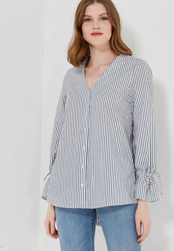 Купить Блуза Vero Moda, ve389ewzkt17, синий, Весна-лето 2018