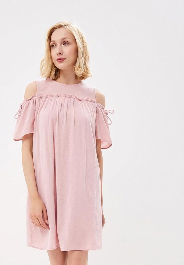 Купить Платье Vero Moda, VE389EWZKT50, розовый, Весна-лето 2018